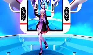 satisfied Synthesizer - Yuzuki Yukari MMD R-18