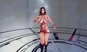 3D Oblivion Futa - Kiss Me