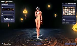Blade and Soul bare naked Mod Character Creation