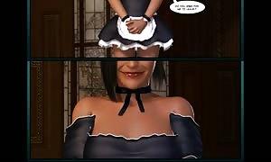 3D Comic: Aveline. scenes 2-3