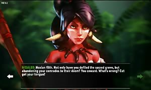 Nidalee 3D animated comic game (Lol) League of Legends