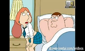 Family man toon - dirty Lois wants anal-sex