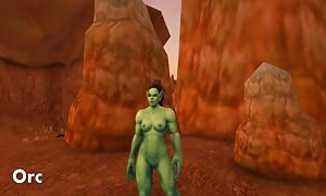 Warlords of Draenor nude Patch Horde & impartial