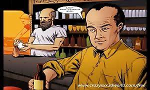 2D Comic: Spellbinder. scene 1
